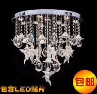 Steel Plate Lamps Led Villa Staircase Lighting Acrylic Ceiling Pendant Lights Ball Project Custom