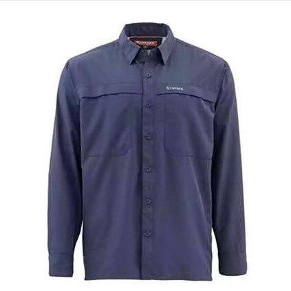 2019 Si MS Men Fishing Shirt LS Shirt Breathable Ultralight Fast Dry UPF50 UV Fishing Clothing
