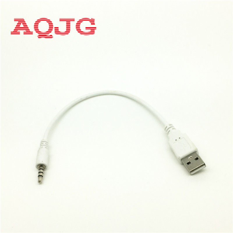 High quality 3.5mm to usb cable adapter audio aux Jack Male converter Charge Cable AQJG 3 5mm male aux audio plug jack to usb 2 0 female converter cable cord car mp3 k400y dropship