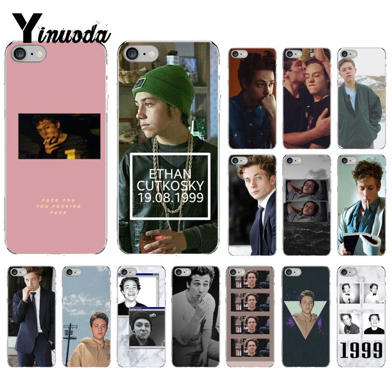 Yinuoda Lip Gallagher Shameless Tv Show DIY Painted Phone Case For IPhone X XS MAX 6
