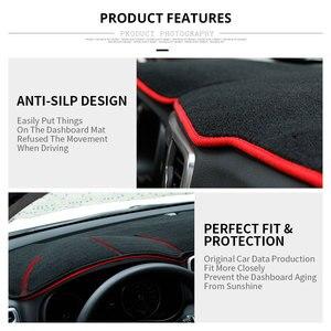 Image 4 - רכב לוח מחוונים כיסוי מחצלת להגן על כרית כיסוי רכב אביזרי עבור LHD פורד פוקוס 2 3 2017 2016 2015 2014 2013 2012 2011 2010 2009