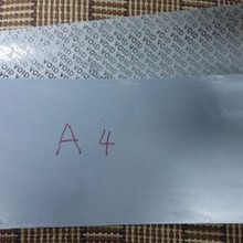 100 листов/упаковка A4silver пустая самоклеющаяся бумага для печати бумажные этикетки A4 Печать Пустые Пользовательские наклейки, этикетки