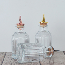 Bitter-Bottle Dash-Top Cocktail-With Glass Birdcage-Design Stainless-Steel for 90ml Mixologist-Bar-Tool