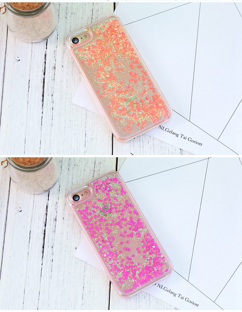 Glitter Quicksand For iPhone 6 6S 7 Plus 5 5S SE 4S Case For Samsung S6 S7 Edge Plus S5 S4 A5 A7 2016 G530 Note 4 5  (11)