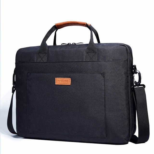 Waterproof Shoulder Bag 13.3 14.4 15.6 17.3 inch Briefcase Business Bag Men Women Messenger Bag Canvas Messenger Bag 3