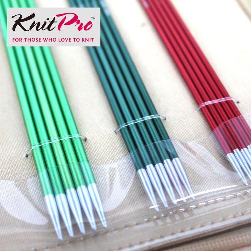 15 cm longitud KnitPro Zing doble punta Agujas todos los tamaños.