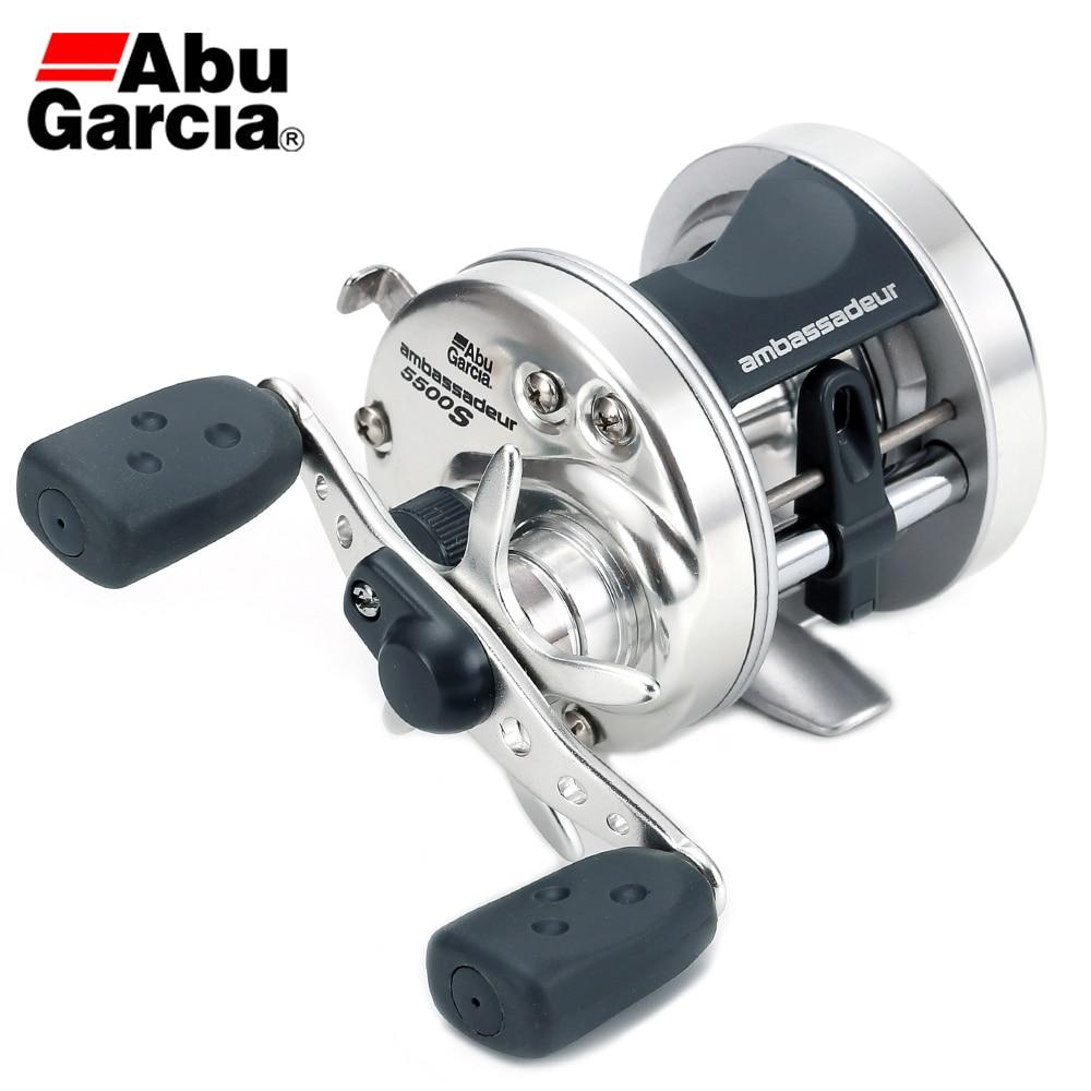 100 Original Abu Garcia AMBASSADEUR 5500 5501 2BB 5 1 1 297g Max Drag 5kg Drum