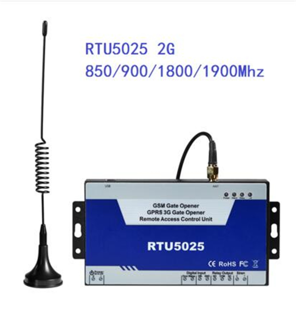Interruptor de control remoto de fábrica china rtu 5025, abridor de puerta gsm rtu5025