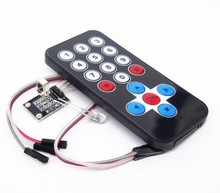 1 LOT Infrared IR Wireless Remote Control Module Kits DIY Kit HX1838 For Arduino Raspberry Pi