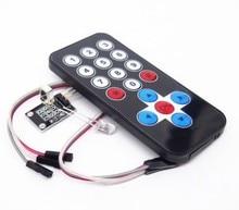 1 LOT Infrared IR Wireless Remote Control Module Kits DIY Kit HX1838 For Arduino Raspberry Pi