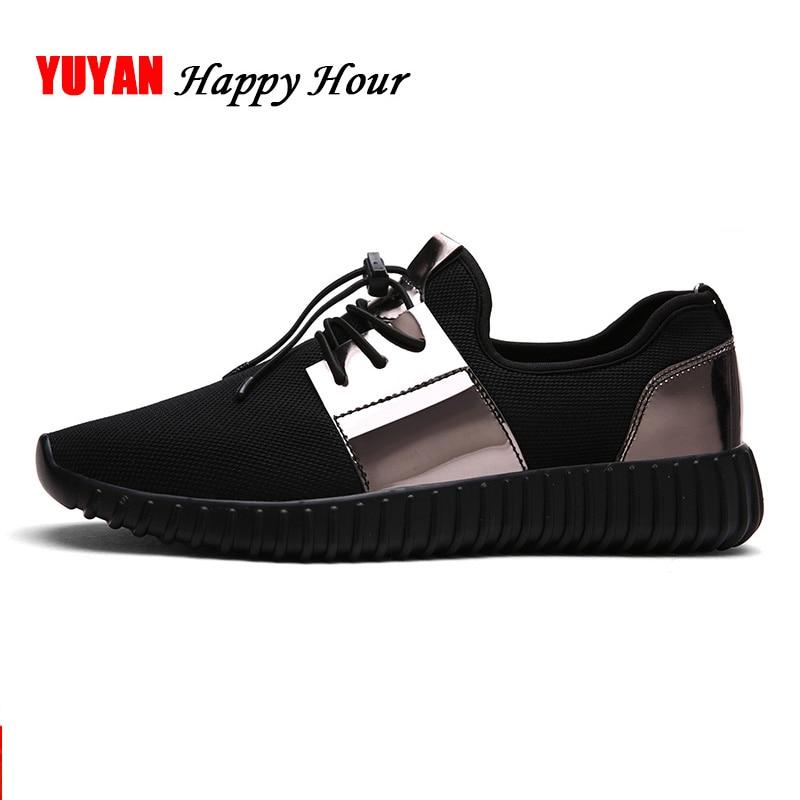 Sapatilhas Das Mulheres Paillette Sapatos da moda Mulheres Apartamentos Malha 42 Marca Das Sapatilhas das Mulheres Sapatos Casuais Sapatos de Tamanho Grande Sapatos de Ouro Preto