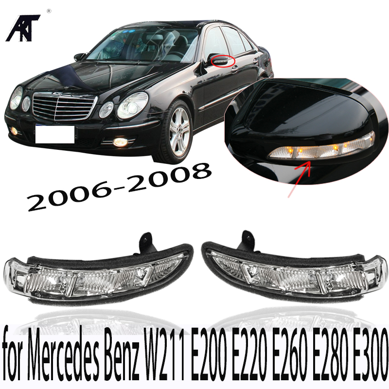 Door Mirror Turn Signal Light for Mercedes Benz W211 E200 E220 E260 E280 E300 2006-2008 door mirror turn signal light for mercedes benz w636 w639 vito viano