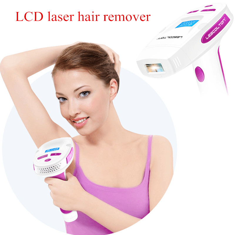 Electric depilador a laser Epilator Lescolton painless IPL Hair Removal 300000 pulses LCD Display Laser Permanent Bikini Trimmer lescolton electric laser hair epilator lcd display permanent hair removal device laser women men epilator bikini beauty health