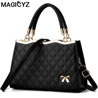 JOOZ High Quality Women Handbag Brand Party Evening Soft Leather Bag Ladies Totes Woman Leather Handbags