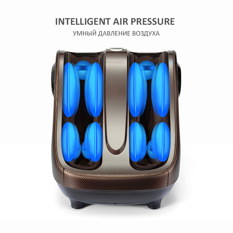 Image 3 - Electric Foot Massager Calf Leg Air Compression massage Machine Shiatsu Kneading Rolling Massage Feet with Heating-in Massage & Relaxation from Beauty & Health