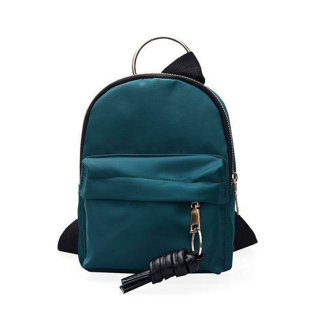 Aliexpress.com : Buy 2018 New Fashion Nylon Backpack Women Jacket ...