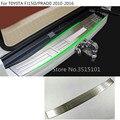 Автомобильный внешний задний бампер защитная накладка для багажника пластина педаль 1 шт. для Toyota FJ150/Prado 2010 2011 2012 2013 2014 2015 2016