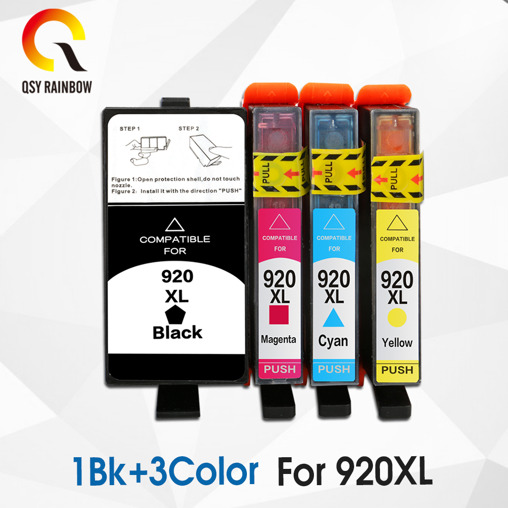 CMYK SUPPLIES Remanufactured ink cartridge replacement For hp 920XL Officejet 6000 6500 Wireless 6500A 7000 7500 7500A with chip tianse full ink cartridge for hp 920 xl for hp 920xl for hp920 hp920xl for hp officejet 6000 6500 6500a 7000 7500 7500a printers