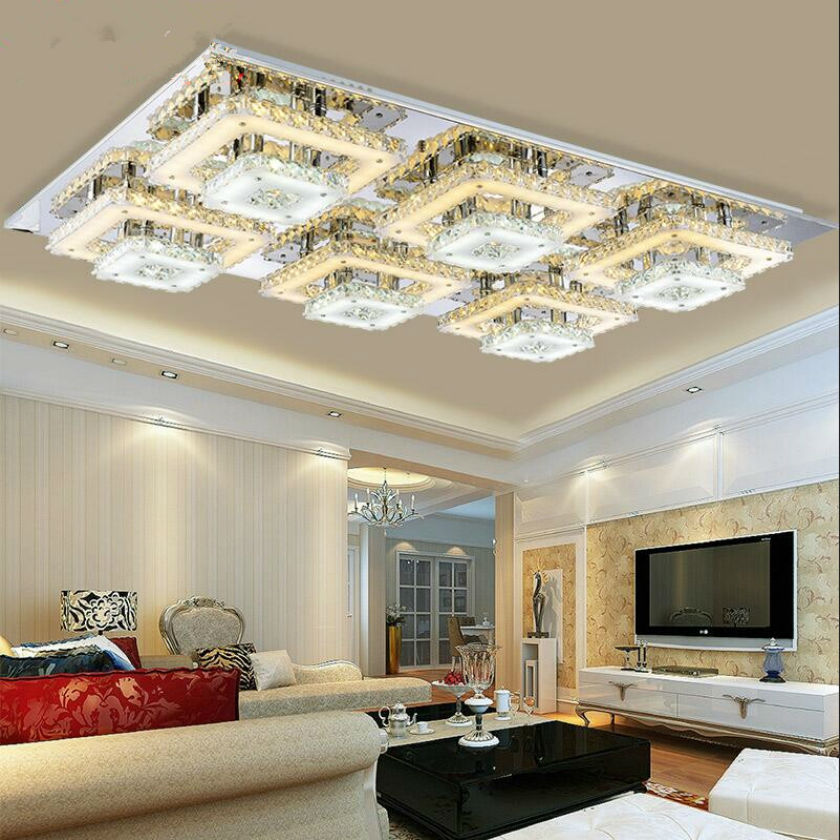 Ceiling Lights Indoor Lighting LED Luminaria Abajur Modern Led Ceiling Lights for Living/Dining Room Lamps Home Decor110v-260v fashion modern lamps led ceiling lights indoor lighting gold electropla living dining room bedroom bar shop light fixture