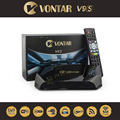 5 unids [Original] VONTAR V9S DVB-S2 HD Receptor de Satélite Soporte 2 xUSB Miracast USB Previsión Meteorológica CCCAMD NEWCAMD Wifi Set Top Box