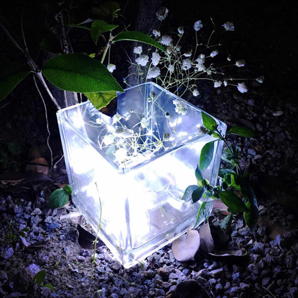 2 м 20LED кнопочный блок питания серебристо-медный провод мини сказочные гирлянды DIY Свадебная вечеринка Настенный Светильник Освещает 23мая 30