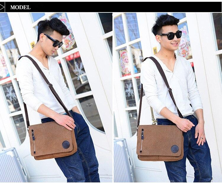 HTB1GL2.asnrK1RjSspkq6yuvXXaN 2019 Vintage Men's Briefcase Canvas Men Messenger bag Classic Designer Shoulder Bags Pocket Casual Business Laptop Travel bags