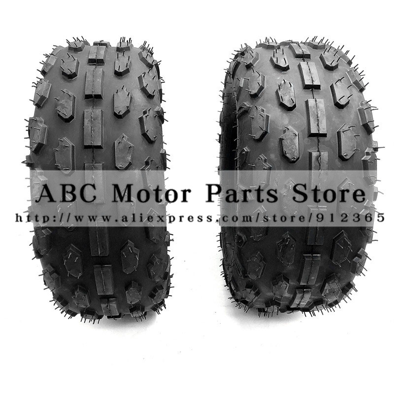 2pcs/lot Of 6 Inch Atv Tire 145/70-6 Four Wheel Vehcile Fit For 50cc 70cc 110cc Small Atv Front Or Rear Wheels Soft And Light Atv,rv,boat & Other Vehicle
