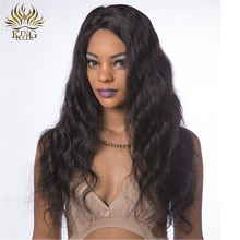 King Hair Peruvian Body Wave 100% Human Hair Full Lace Wigs With Baby Hair 12-24inch Remy Hair Natural Color Free Shipping