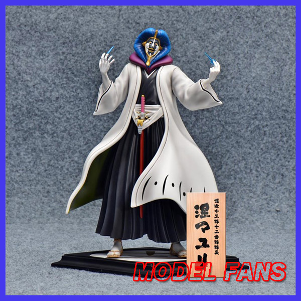 MODEL FANS IN-STOCK 24cm BLEACH Kurotsuchi Mayuri GK resin made figure for Collection christian cross 3d model relief figure stl format religion 3d model relief for cnc in stl file format