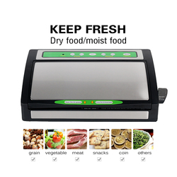 ITOP Electric Household Vacuum Food Sealer, Food Packer Packing Machine Food Processors With Vacuum Food Storage Bags