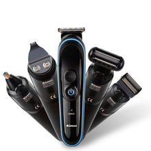 5 In 1 Electric Shaver Hair Trimmer Cutter Clipper Nose Ear For Men Waterproof Rechargeable Personal Clippers