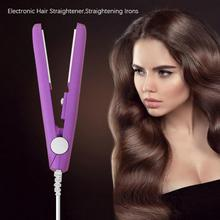 Mini Ceramic Electronic Hair Straightener