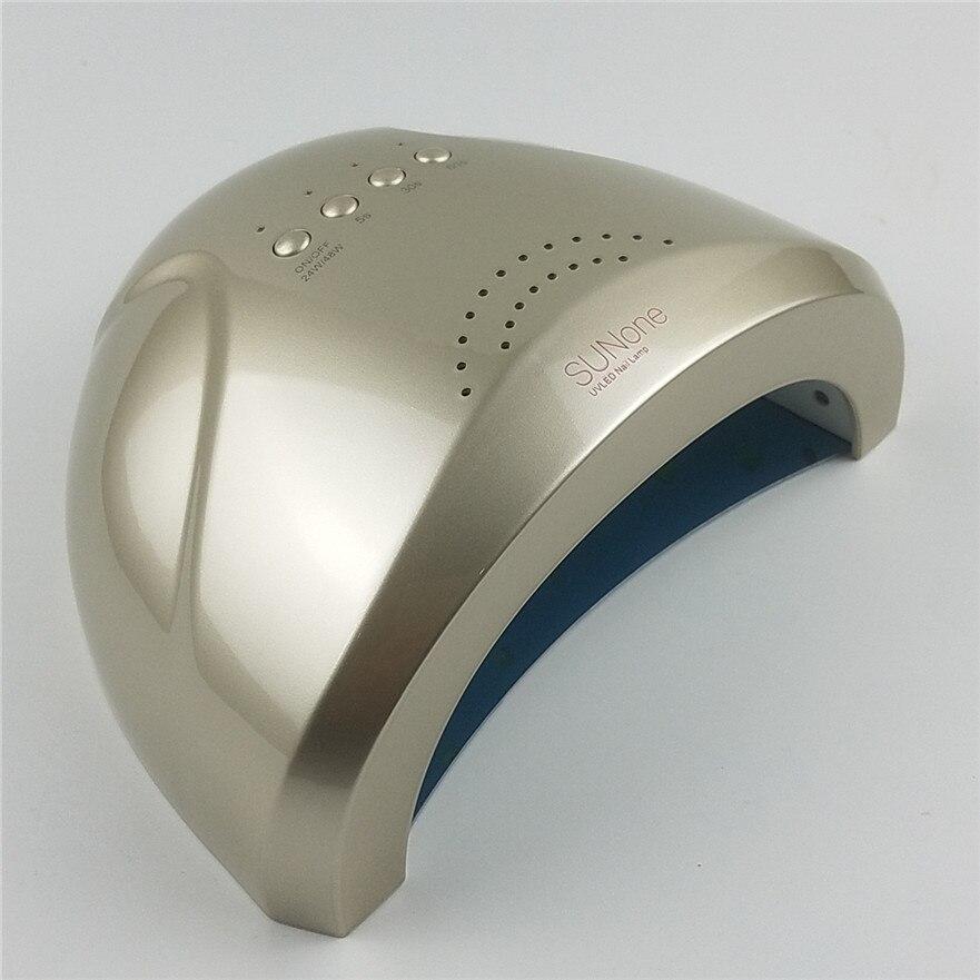 XIXI Brand UV Lamp SUNone 48W 24W 100V 240V LED Nail Dryer For Curing Gel Polish Art Tool Light Fingernail Toenail Free Shipping in Nail Dryers from Beauty Health