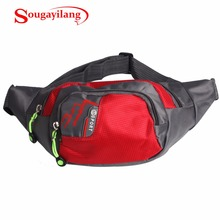 Sougayilang New Red Fishing Bags Pesca Multi-Purpose Waterproof Polyester Fishing Bag Carp Reel Lure Outdoor Fishing Tackle Bag