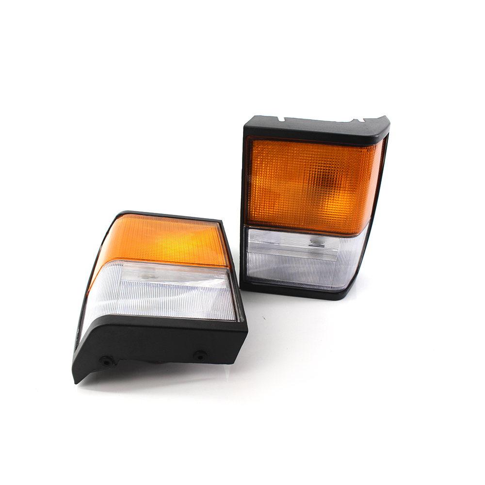 Pair Of Clear Front Indicator Lights For Land Rover: Pair For Range Rover Classic Indicator Side Corner Light