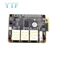 Enrutador Som9331 Ar9331, módulo Wifi Openwrt, bajo consumo de energía, 10 + GPIO 64m