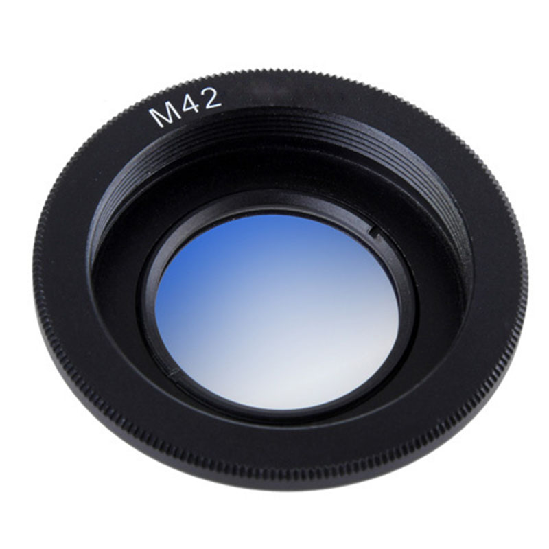 Lens Adapter Ring for M42 Lens to Nikon Mount Adapter Converter with Infinity Focus Glass for