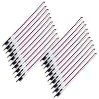 20 pcs Stunning Size Violin Bows 4/4 Really Carbon Fiber Violin Sticks Purple