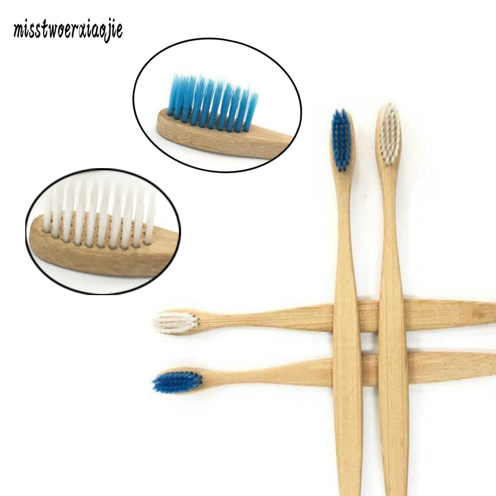 2018 hot oral care bamboo Charcoal toothbrush Fibre hard bristle brush wood toothbrush tongue scraper Adult travel tooth brush image