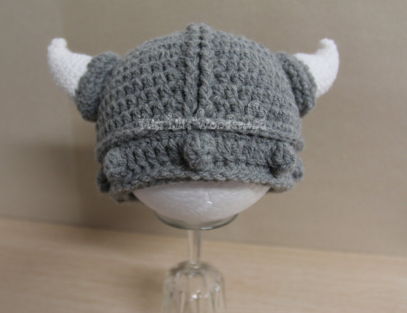 toddler viking hat personalized baby viking beanie hat  4d5e2268539