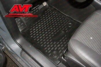Коврики чехол для Chevrolet Captiva 2011-5 шт. Коврики Резиновые Нескользящие резиновые подкладке Тюнинг автомобилей аксессуары >> AVTuning Store