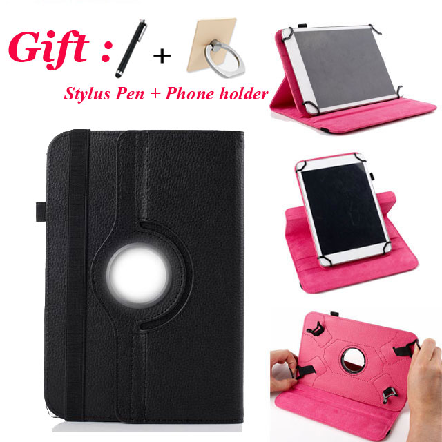 3in1 Universal 360 Rotating PU Leather Stand Cover For 10 inch Android Tablet Universal 9.7/ 10/ 10.1 inch Tablet Case