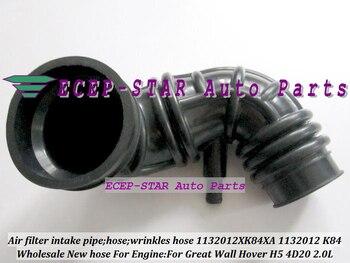 Бесплатная доставка Труба воздушного фильтра Впускной морщины шланг 1132012XK84XA 1132012-K84 1132012 K84 для Great Wall GW Hover H5 4D20 2.0L 2,0 T