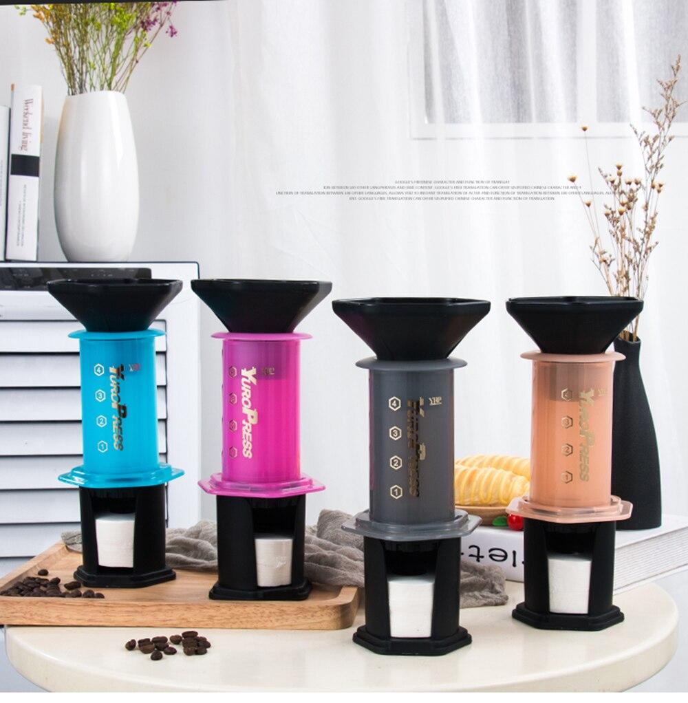 imprensa francesa barista ferramentas pote de café