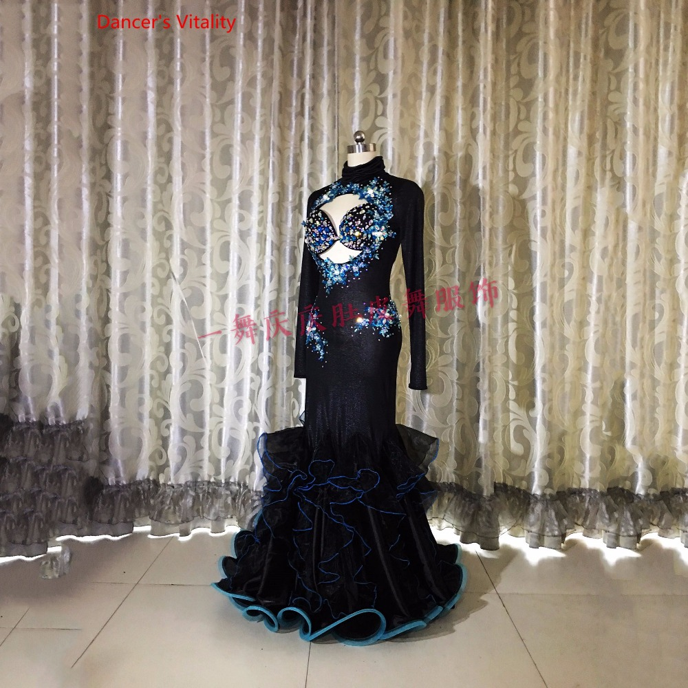 Custom Bellydance Oriental Indian Gypsy Dance Practice Belly Dance Costume Performance Clothes Skirt Clothing Dress Set