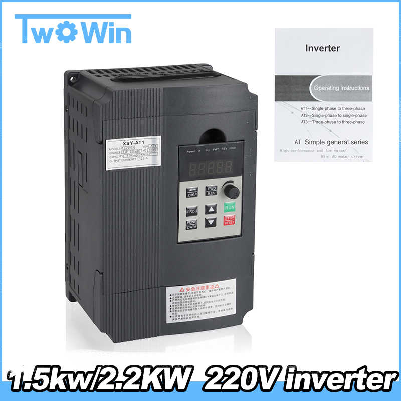 Detail Feedback Questions about Hot sale!1 5KW/2 2KW 220V
