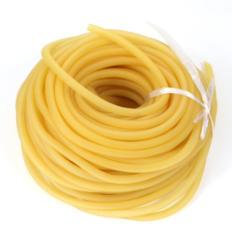 9mm X 6mm Latex Surgical Tourniquet 0.8 M Natural Rubber Band Tube Hunting Slingshot Tubing Band Fitness Elastic Stretch Tube