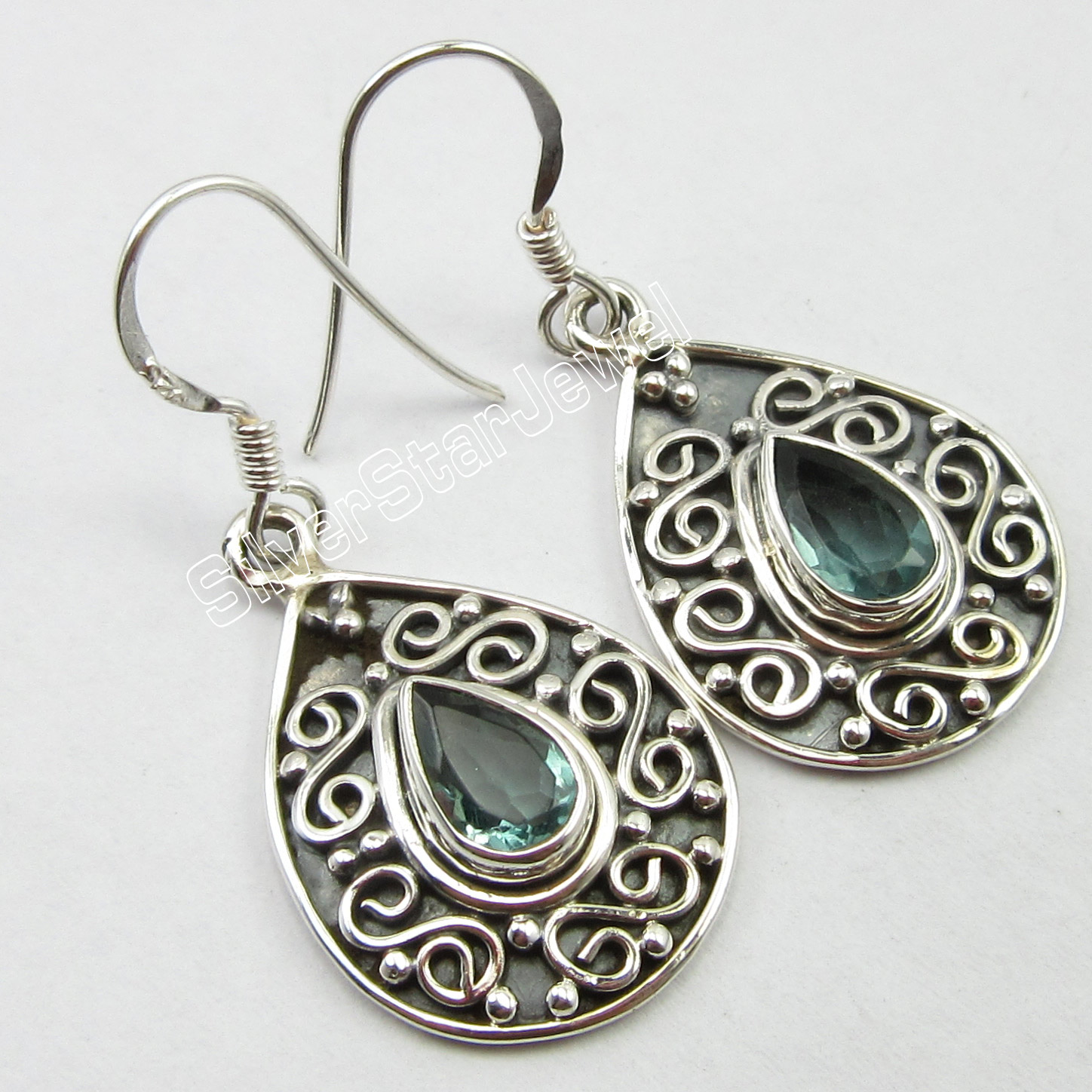 √Chanti International ANTIQUE LOOK Solid Silver Hot Selling