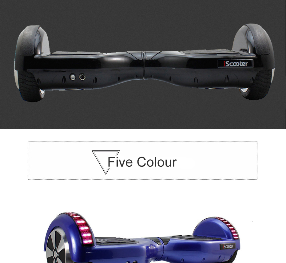 UL2722 6.5 inch Hoverboard or Electric Skateboard with steering-wheel and self Balancing Feature 12