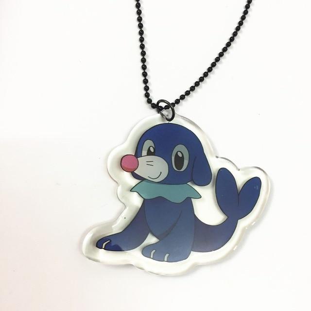 Акриловый брелок и кулон Pokemon Go popplio 1